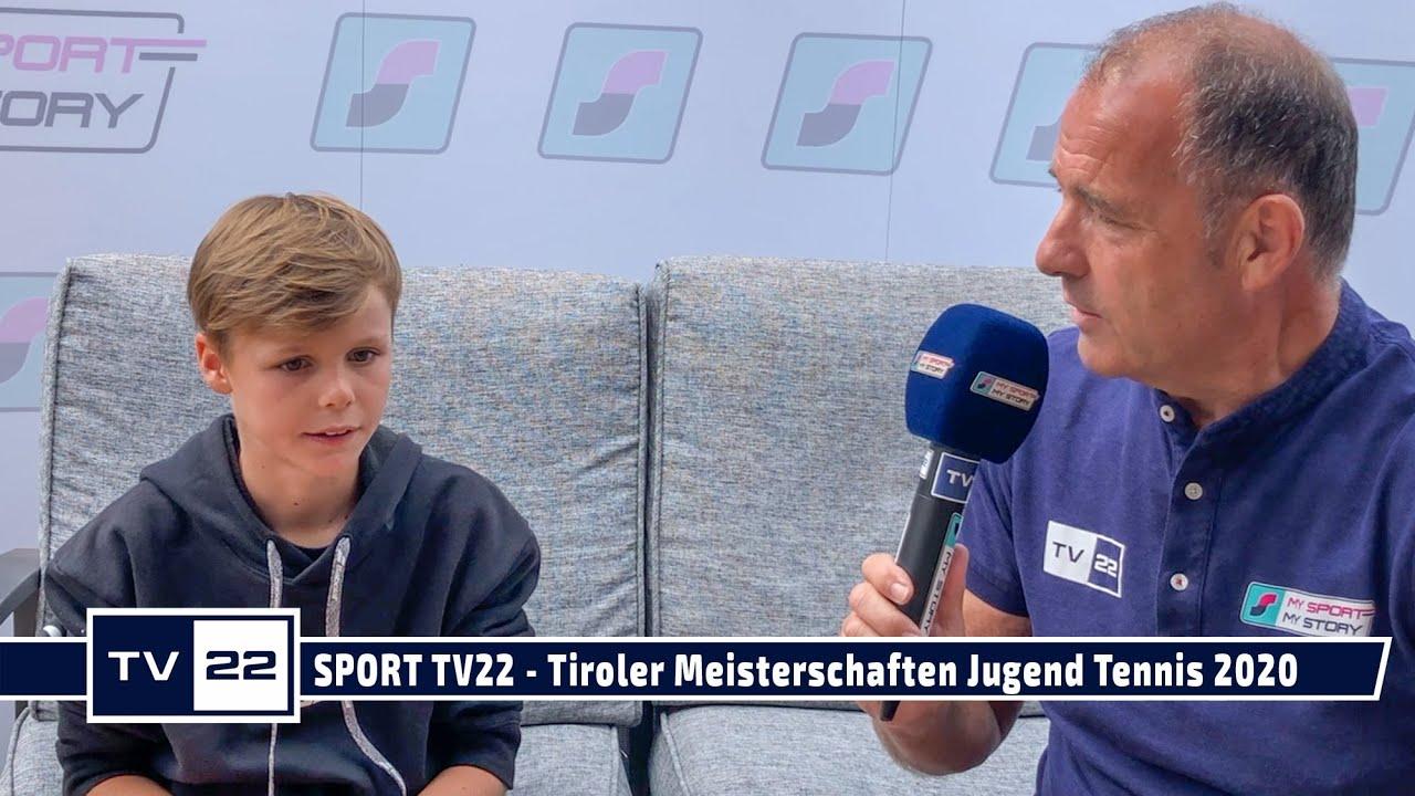 SPORT TV22 - Tiroler Meisterschaften Jugend im Tennis in Zams 2020
