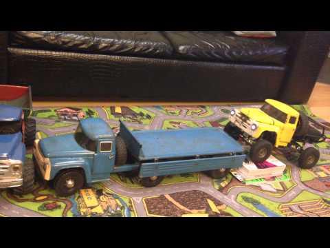видео: игрушка ссср ЗИЛ 130 r/c на радиоуправлении yellow alert