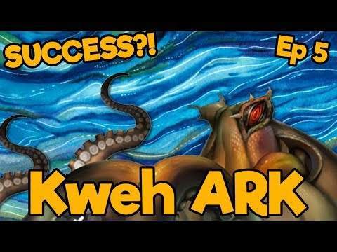 A Successful Aquatics Episode?!   Kweh ARK SMP   Ep. 5