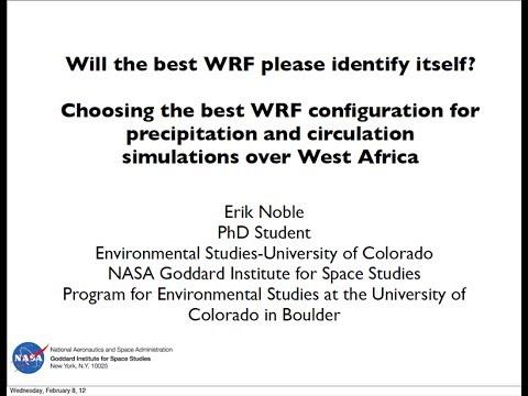 Seminar: Erik Noble, 2012-02-08