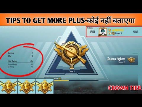 How To Get More Plus In Crown Tier- कोई नहीं बताएगा | #2 With 3 Kills 15+🔥 In CROWN 2| AnonYmous FPP