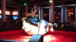 Beautiful Country Girl PBR Saint Louis Mechanical Bull Riding