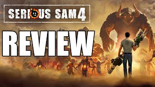 Serious Sam 4 Review - An Unremarkable Experience (Video Game Video Review)
