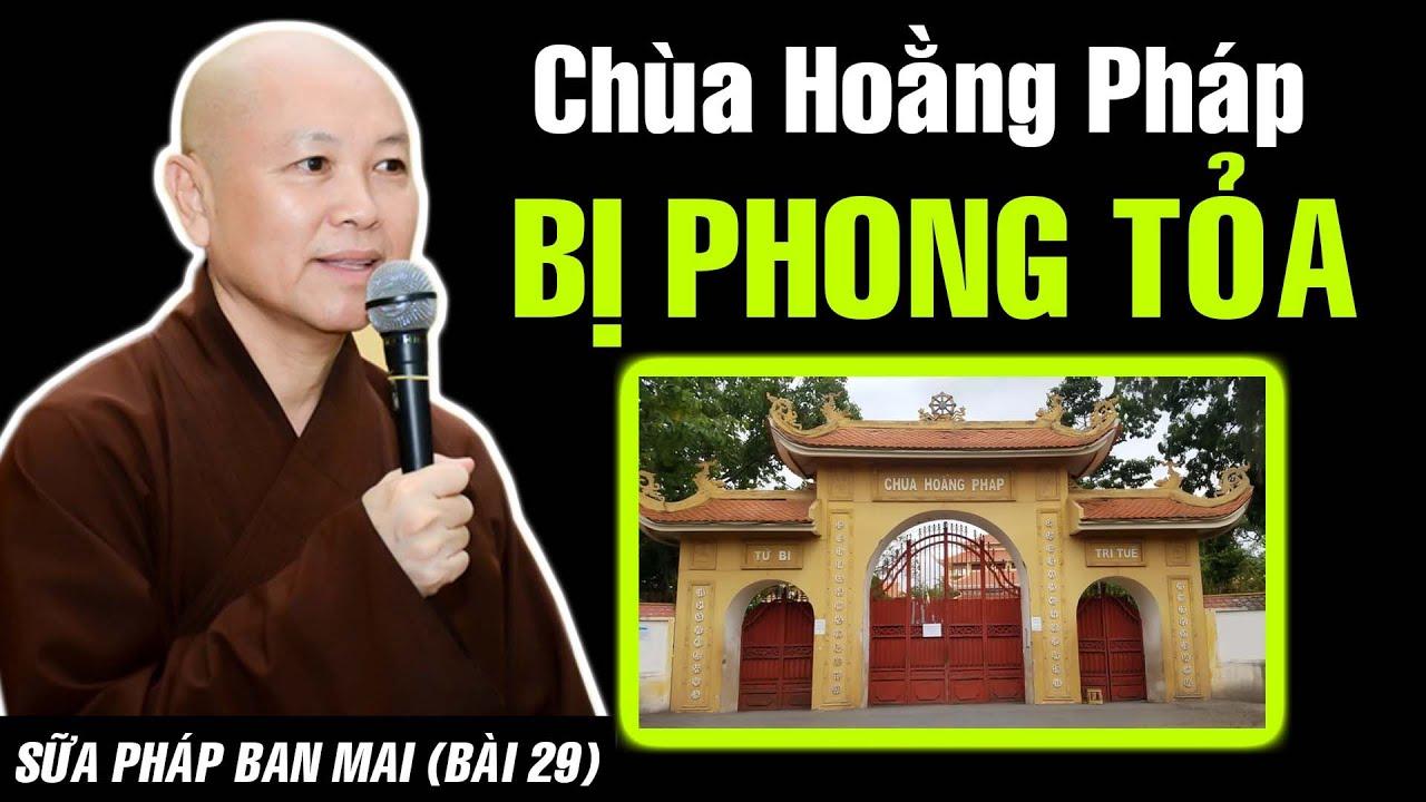 CĂNG  QUÁ! Toàn bộ khu vực chùa Hoằng Pháp ấp Tân Thới 3 PHONG TỎA 14 ngày - Thầy Chân Tính nói gì?