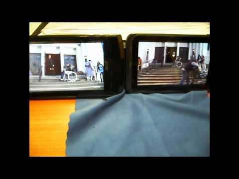 Экран Acer s200 vs Экран Acer Stream