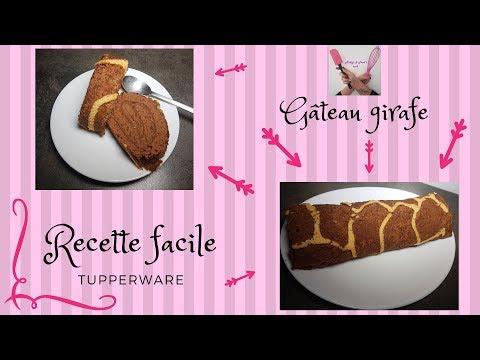 gÂteau-girafe-recette-facile-tupperware-roulé