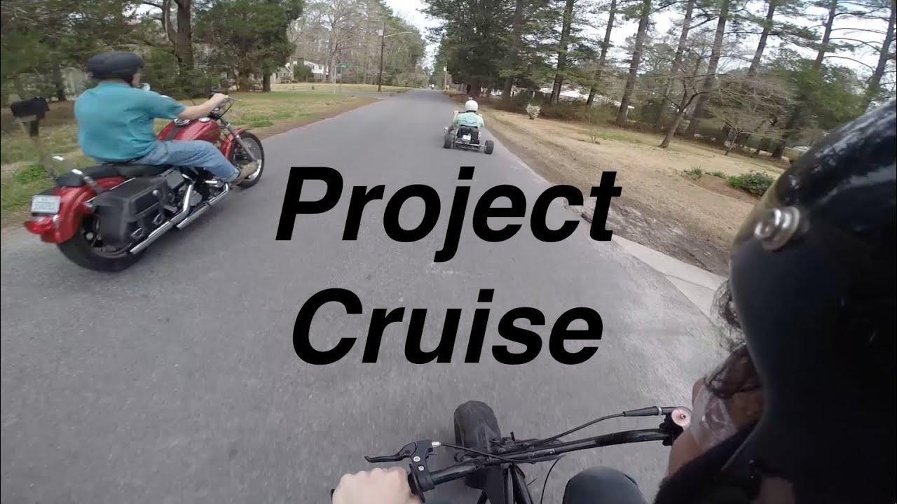 Drift Trike, Mini Bike, & Harley Cruise (with Short Race)