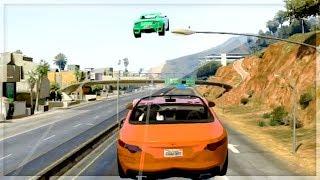 GTA 5 Funny Moments - Ultimate Slipstream Ramps - (GTA V Online Games Stunts)