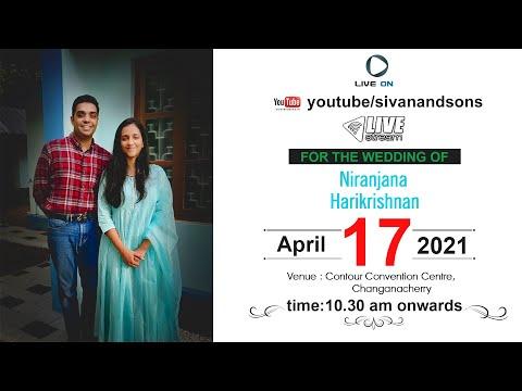 |  Niranjana + Harikrishnan | Wedding Live Streaming | Sivan and Sons Photography |