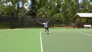 The Advantages Of Hitting Loopy Shots To Your Opponents Backhand
