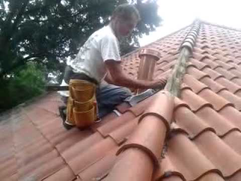 spanish tile plumbing boot replacement