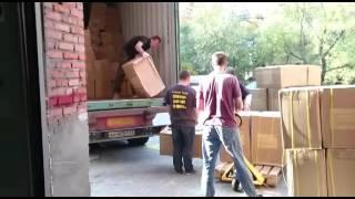 видео офисный переезд