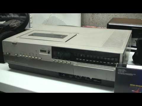 1982 Magnavox Rebadged Panasonic Vhs Top Loader And 1970