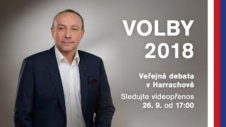Diskuse v Harrachově | Komunální volby 2018