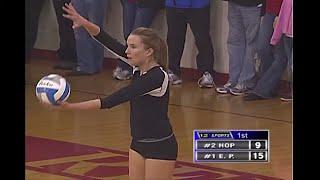 Hopkins vs. Eden Prairie Girls High School Volleyball Section Final
