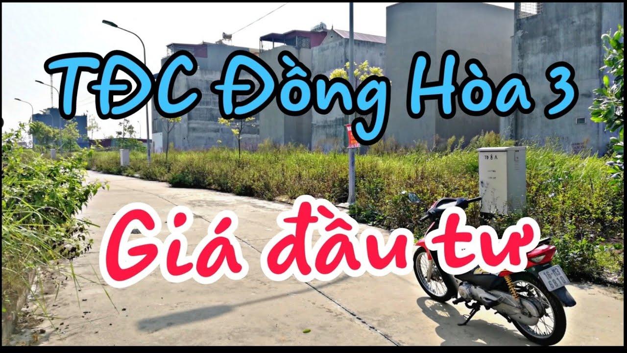 Đất Nền TDC Đồng Hòa 3, Kiến An, Hải Phòng Giá Đầu Tư