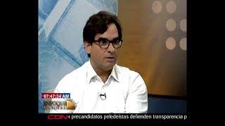Entrevista al programador informático Carlos Miranda Levy en Enfoque Matinal
