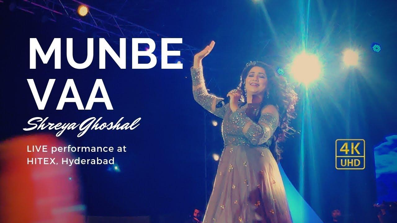 Download Munbe Vaa - Sillunu Oru Kaadhal | Shreya Ghoshal LIVE performance