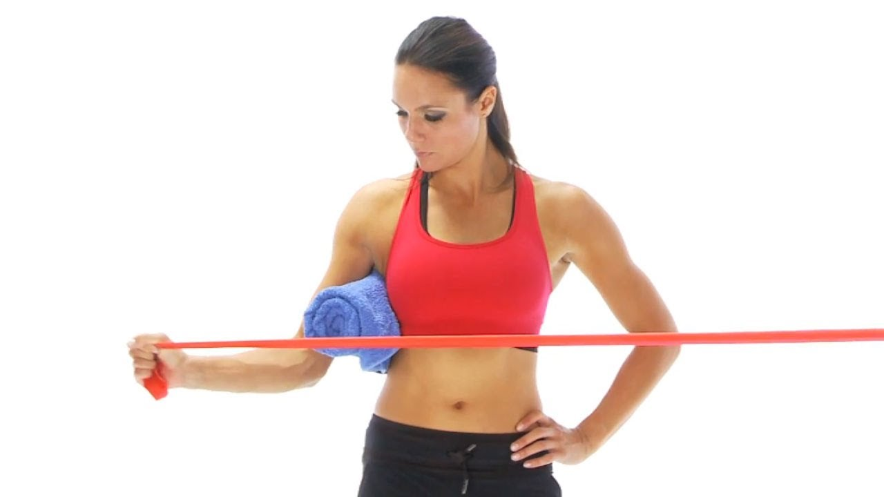 Shoulder Exercise Lateral Rotation In Standing Youtube
