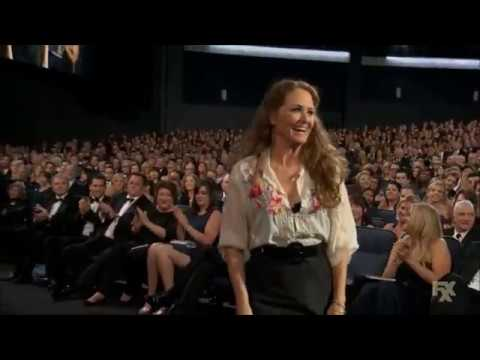 Melissa Leo wins Emmy Award for Louie (2013)
