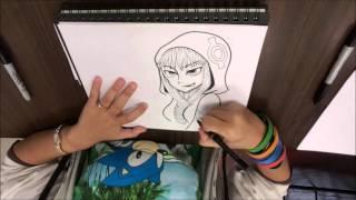How to draw Medusa Gorgon