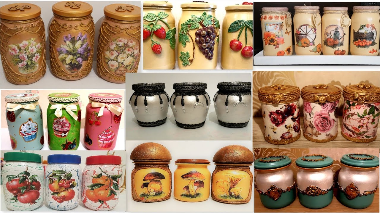 11 Amazing Diy Ideas For Recycling Jars Decorating Glass Jars