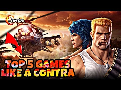 5 BEST GAMES LIKE A SUPER CONTRA (no Serve)