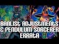 Yugioh Banlist Adjustments & Pendulum Sorcerer Errata video
