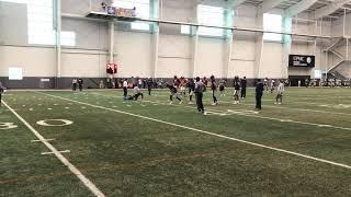 Pitt WR Twins Drill 3/21/19 | Pitt Spring Practice | PSN