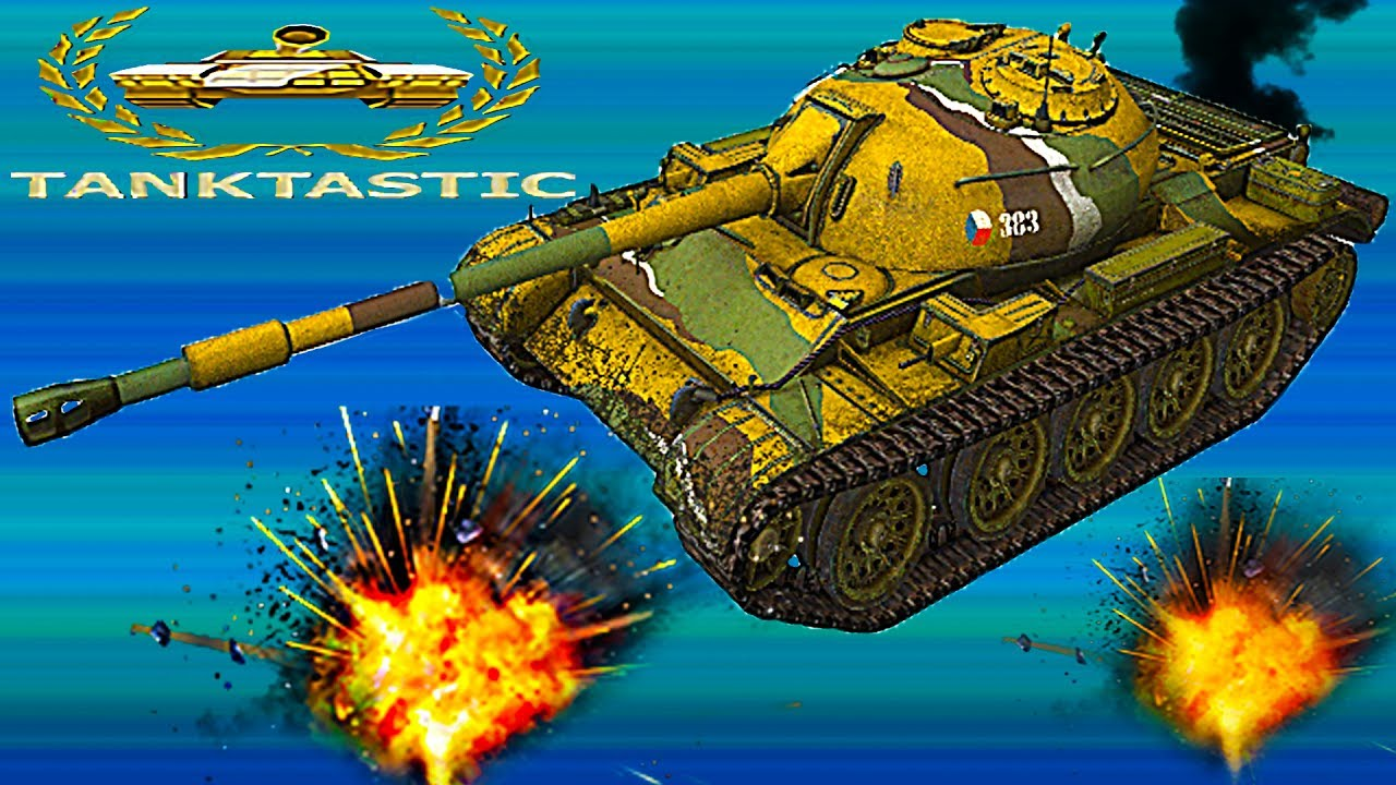 ТАНКОМУЛЬТ#7 ИГРА БИТВА ОНЛАЙН Tanktastic как War Machines ...