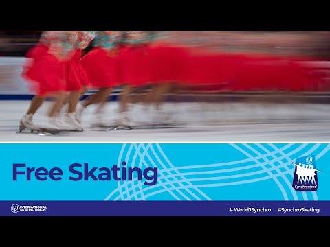 LIVE 🔴 Free Skating | Neuchâtel 2019 | #WorldJSynchro
