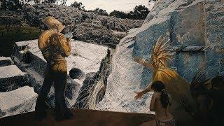 """Каменная тайна древних инков: """"Оплавленные"""" и изрезанные скалы"""