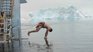 Plunge into the Polar Waters in Antarctica