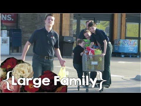 A Spring Sunday ║ Large Family Vlog