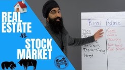 Stock Market vs. Real Estate Investing - Who Wins?