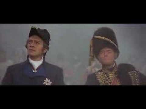 the last scene of Napoleon's falling down
