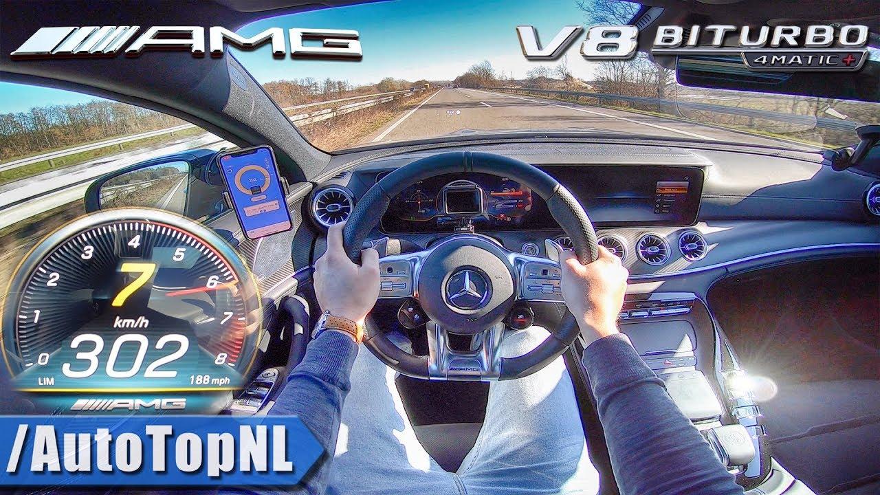 Download Mercedes AMG GT 4Door 63 S 639HP AUTOBAHN POV 302km/h by AutoTopNL