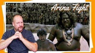 Aayirathil Oruvan   Fight Scene   REACTION   Arena Fight