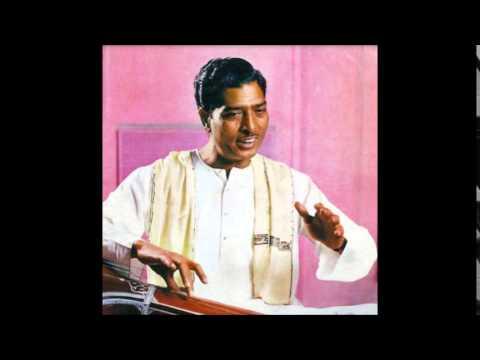 Ustad Sharafat Hussain Khan -Radio Sangeet Sammelan- Kafi Kanra & Sohini