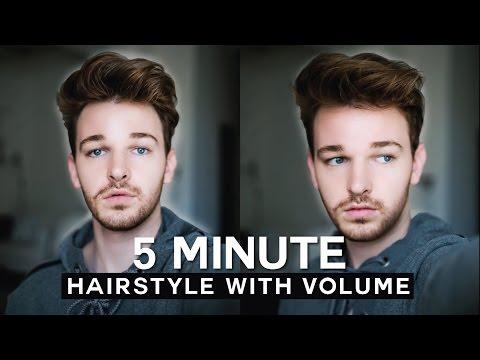 Mens Hairstyle 2016 Messy Quiff – Easy & Fast ✂️ Imdrewscott