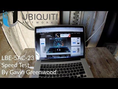 Ubiquiti Networks Litebeam AC - LBE-5AC-23 PTP Speed Testing