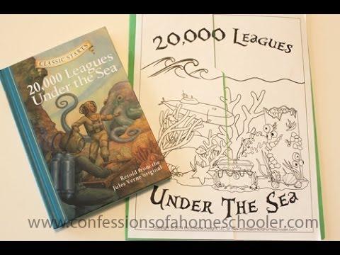 20000 Leagues Under the Sea Lapbook & Unit Study