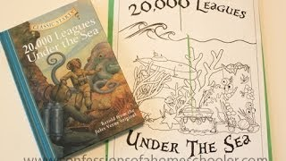 20000 Leagues Under the Sea Lapbook & Unit Study Thumbnail
