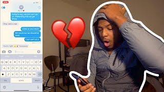 Lyric Prank On Girlfriend Gone Wrong!! (WE BROKE UP)
