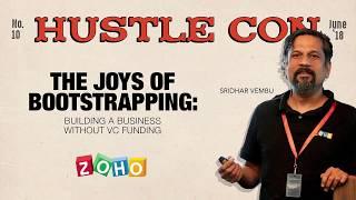 Sridhar Vembu   Hustle Con 2018