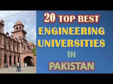 List Of Top Best Engineering Universities In Pakistan Updated