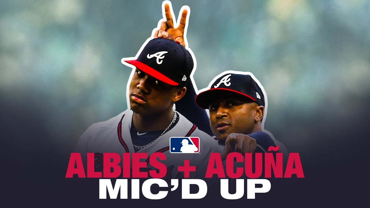 Hilarious! Ronald Acuña Jr. and Ozzie Albies mic'd up at Spring Training game