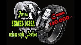 Review Jam tangan LED SKMEI 1035A Indonesia