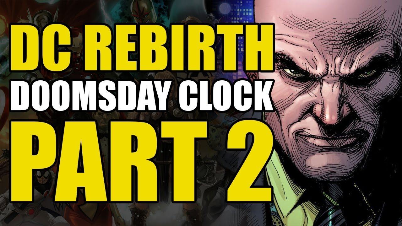 Rorschach Meets Dc Rebirth Doomsday Clock 2 Youtube