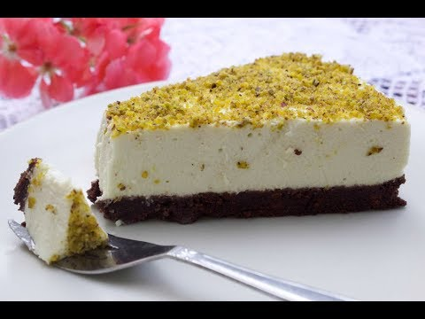 Cheesecake Al Pistacchio Ricetta Youtube